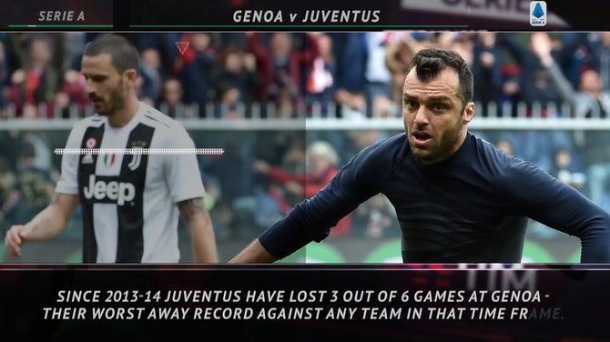 5 Things - Juve face tricky Genoa test