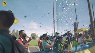Imagen de vista previa para Así despidió la afición del América al equipo antes de la final de la Concachampions