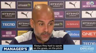 Preview image for Pep Guardiola on Raheem Sterling and playing time
