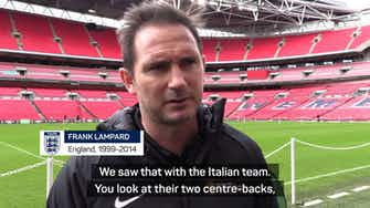 Preview image for Development and experience key for England after Euros defeat - Lampard