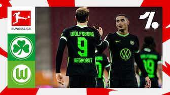 Imagem de visualização para Veja os lances de Greuther Fürth vs. Wolfsburg   09/11/2021