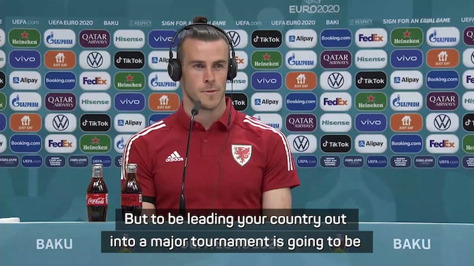 'Massive honour' for Bale to captain Wales at Euro 2020