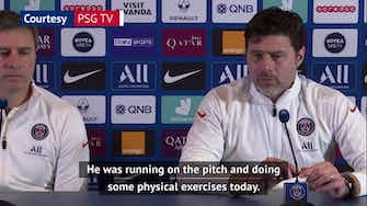 Preview image for Neymar recovery on schedule - Pochettino