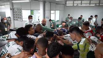 Imagem de visualização para Bastidores da vitória do Palmeiras sobre a Chape na Arena Condá