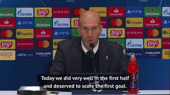 Preview image for 'I will not resign from Real Madrid' - Zidane after Shakhtar defeat