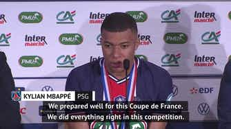 Preview image for Mbappe locks sights on Ligue 1 after PSG clinch Coupe de France