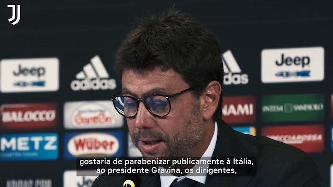 """Imagem de visualização para Allegri comemora retorno à Juventus: """"Começo de um novo ciclo"""""""