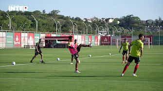 Imagem de visualização para Internacional se reapresenta e inicia preparação de olho no Palmeiras