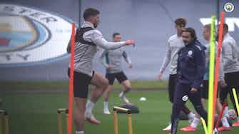 Imagen de vista previa para El Manchester City se prepara para su partido ante el Burnley