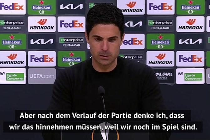 """Arteta nach Niederlage: """"Sind noch im Spiel"""""""