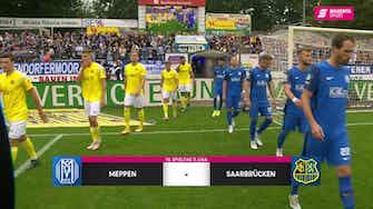 Vorschaubild für SV Meppen - 1. FC Saarbrücken (Highlights)