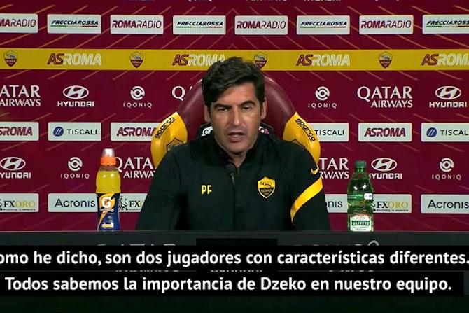 """Fonseca: """"Dzeko es importante, pero Mayoral también lo es"""""""