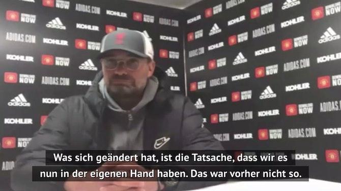 """Vorschaubild für Klopp: """"Haben CL-Quali wieder in eigener Hand"""""""