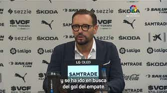 Imagen de vista previa para José Bordalás analizó el partido que se le escapó sobre el final.
