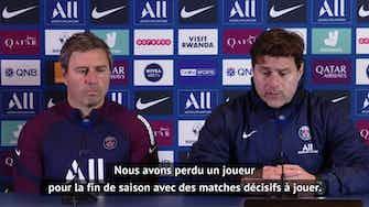 """Image d'aperçu pour PSG - Pochettino : """"J'espère que Verratti sera de retour pour l'Euro"""""""
