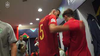 Preview image for Behind the scenes: Gavi's historic Spain debut