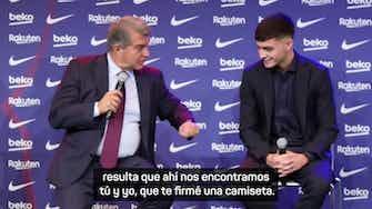 Imagen de vista previa para El lapsus de Laporta; llama Messi a Pedri