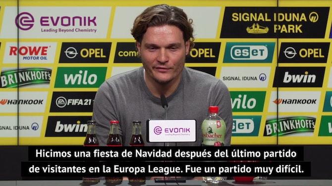 """Terzić: """"Cuando jugué en Sevilla, los recogepelotas desaparecieron del estadio"""""""