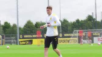 Vorschaubild für Knackige Einheit: Marco Rose legt beim BVB los