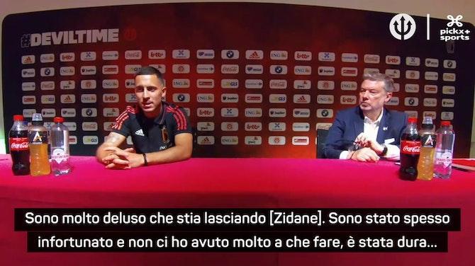 """Anteprima immagine per Hazard su Zidane: """"Una grande perdita per il Real"""""""