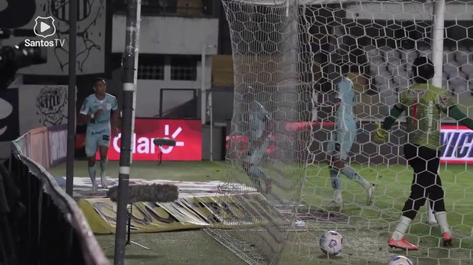 Preview image for Santos beat Juazeirense in first match the octaves of final of 2021 Brazilian Cup