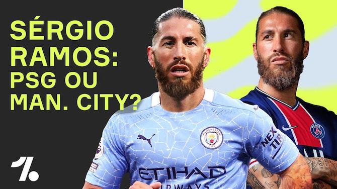 Imagem de visualização para Qual é o destino de SÉRGIO RAMOS? PSG ou Man. City?