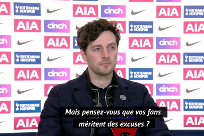 29e j. - Mason ne veut pas parler de Super Ligue et félicite Hugo Lloris
