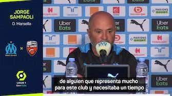 """Imagen de vista previa para Sampaoli, sobre Pau López: """"Hay una competencia sana con Mandanda"""""""