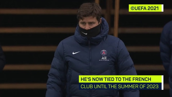 Preview image for Pochettino signs PSG contract extension