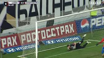 Preview image for Honda's diving header against Spartak Moscow