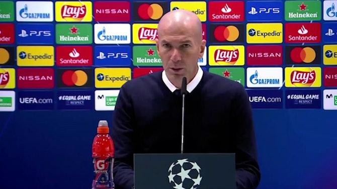 """Zidane, en titulares: """"Estamos vivos"""""""