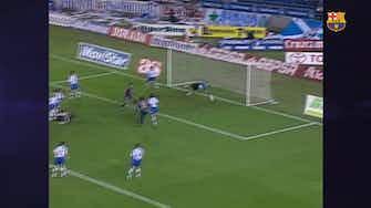 Anteprima immagine per Il gol in bicicletta di Carles Puyol contro il Tenerife