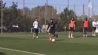 Imagen de vista previa para Marcelo completó el segundo entrenamiento de la semana