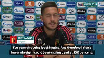 Preview image for Hazard doubts problem ankle 'will ever be the same'