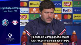 Preview image for Pochettino backs Messi to 'shine' despite absence of PSG team-mates
