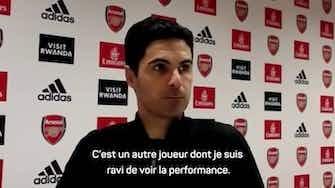 Image d'aperçu pour Arsenal – Arteta espère garder sa pépite, Nketiah