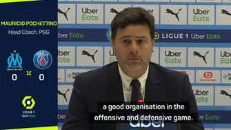 Preview image for PSG players 'must be congratulated' after draw at Marseille - Pochettino
