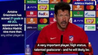 Preview image for Griezmann set to be 'very important player' for Atletico - Simeone