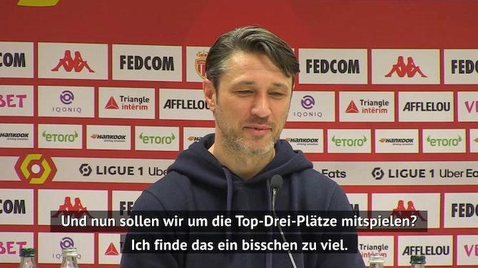 """Kovac über Top-3-Platz: """"Das wäre ein Wunder"""""""