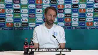 """Imagen de vista previa para Southgate: """"Nunca hemos jugado una final, la presión la tiene Dinamarca que ya ha ganado la Eurocopa"""""""