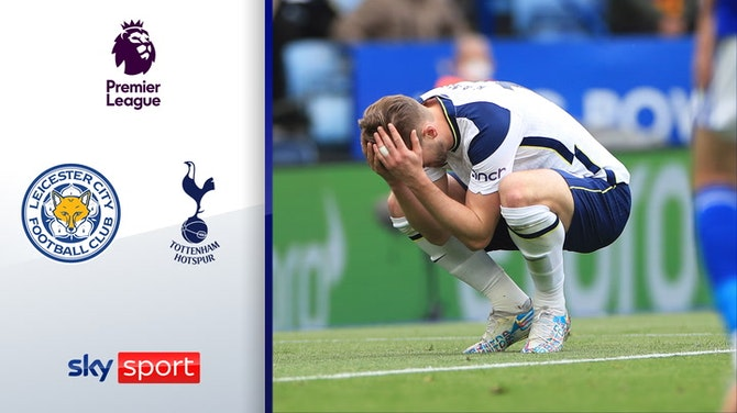 Eigentor versetzt Foxes in Schockstarre | Highlights: Leicester - Tottenham 2:4