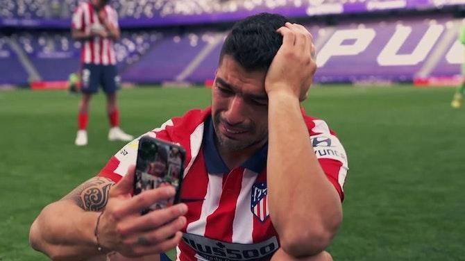 La celebración del Atlético, desde dentro
