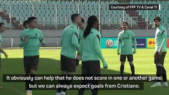 Preview image for Scoring goals belongs to Cristiano - Neves