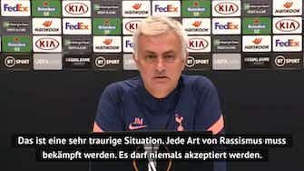 """Vorschaubild für Mourinho zu Rassismus-Eklat: """"Spiel muss in Erinnerung bleiben!"""""""
