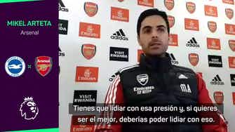 """Imagen de vista previa para Arteta: """"Cada derrota es una crisis en un club como el Arsenal"""""""