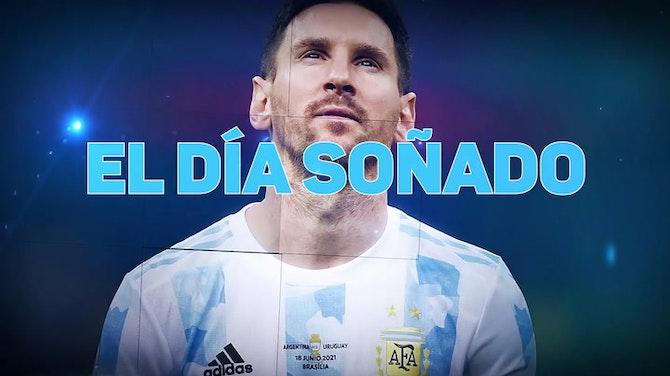 Imagen de vista previa para El día soñado de Messi