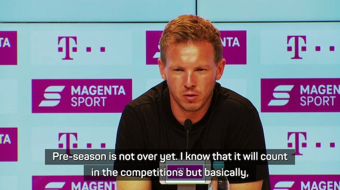 Preview image for Nagelsmann not concerned by Bayern's winless start