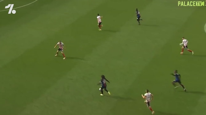 Eberechi Eze's debut season at Crystal Palace