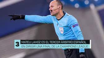 Imagen de vista previa para Finales de la Champions League dirigidas por árbitros españoles