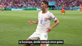 """Imagen de vista previa para Patrick Schick: """"Todo empezó con los 5 goles que marqué en la Eurocopa"""""""